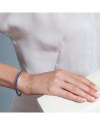 Astley Clarke Blue Woven Biography Bracelet