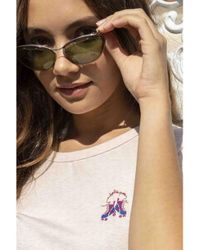 Maison Labiche Roller Heather Pink T-shirt