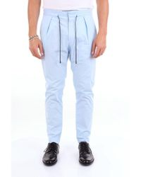 Michael Coal Trousers Chino Men Light Blue for men