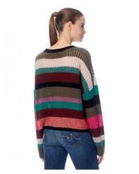 360cashmere Multicolor Ashley Stripe Knit