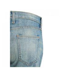 Current/Elliott Blue Current/elliott The Fling Boyfriend Jeans for men
