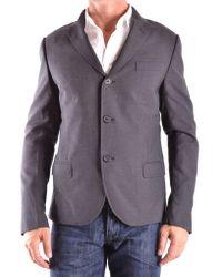 Daniele Alessandrini Gray Jacket for men