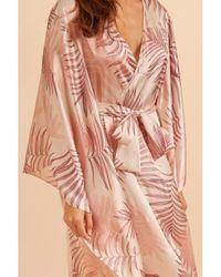 Gilda & Pearl Pink Kew Kaftan