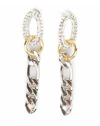 Rada' Metallic Handmade Earrings