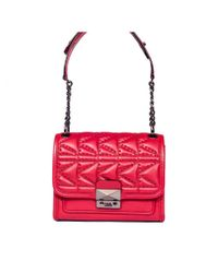 Karl Lagerfeld Red K/kuilted Borsa A Mano Piccola