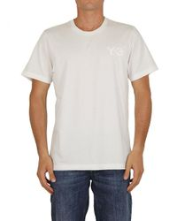 Y-3 T-shirt In White for men