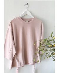 SELECTED - Pink Sobia Sweat - Lyst