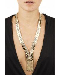 Silvia Gnecchi Metallic Altea Necklace