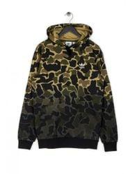 Adidas Camo Hoodie Green for men