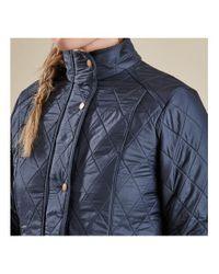 Barbour Blue Ladies Cavalry Polarquilt Jacket