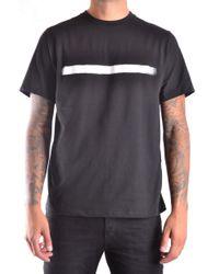 Neil Barrett Black T-shirt for men