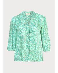 Pyrus Green Solace Blouse Mint