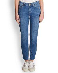 MiH Jeans Blue M.i.h Jeans Tomboy Boyfriend Jean