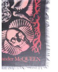 McQ Alexander McQueen Multicolor Dream Shell Foulard