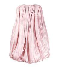 16Arlington Pink Puffball Mini Dress