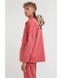 WOOD WOOD Pink Gavin Rose Jacket for men
