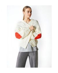 JEFF Amour Cardigan Forest Off White