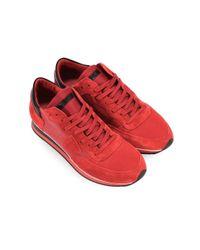 Philippe Model Tropez Mondial Red Black Sneaker 41 for men