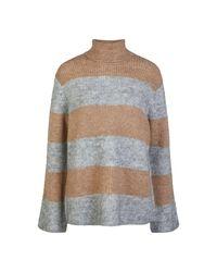 Y.A.S Multicolor Allu Stripe Knit Pullover