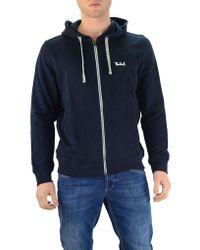 Woolrich Blue Zip Sweatshirt