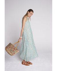 Swildens Blue Beatrix Dress