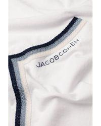 Jacob Cohen Printed T-shirt (white) for men