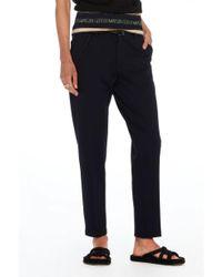 Maison Scotch Blue Tailored Sweat Pants