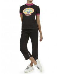 Gcds Black T-shirt Nera Polly Pocket