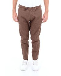 Michael Coal Trousers Classics Men Brown for men