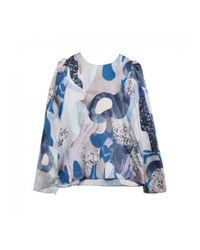 Twist & Tango Blue Twist And Tango Allison Blouse