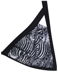 e283e0be2b583c Lyst - Ted Baker Women s Meike Zebra Print Bikini Top