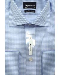 Aquascutum Blue Canterbury Formal Shirt for men