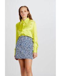 WEILI ZHENG Blouse In Yellow