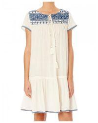 Star Mela - Multicolor Women's Isla Embroidered Dress - Lyst