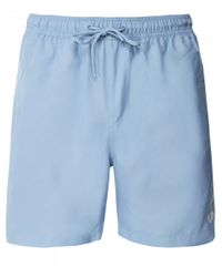 Fred Perry Blue Textured Swim Shorts S4501 444 for men