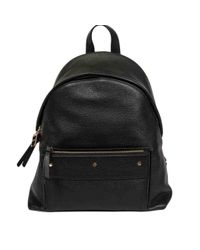 Borbonese Black Bourbonnais Backpack Out Of Middle Office