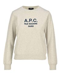 A.P.C. Multicolor Tina Sweatshirt