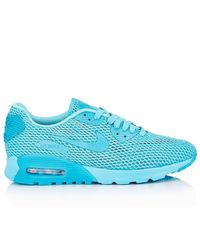 Nike Blue Air Max 90 Ultra Breeze Sneakers