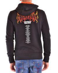 Philipp Plein Black Sweatshirt for men