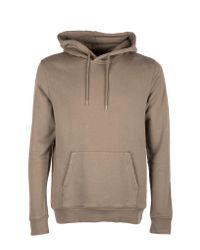 Atterley Brown Colorful Standard Hoodie In Beige for men