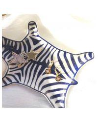 Fortune Jewellery London Metallic Stella Polaris Earrings