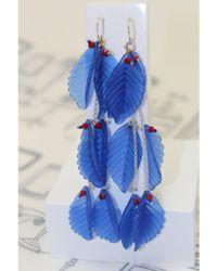 Atterley - Blue Ivy Earring Long - Lyst