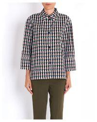 Marni Multicolor Printed Polo 3/4 Shirt Sleeves