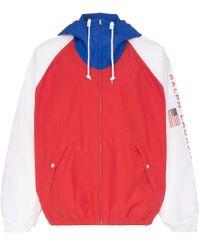 Polo Ralph Lauren Red Og V2 Bucket Polo Sport Windbreaker for men
