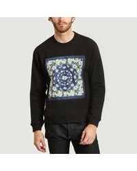 KENZO Vans X Bandana Sweatshirt Black for men