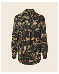 Stine Goya Black Maxwell Peach Tree Shirt