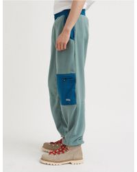 WOOD WOOD Blue Sigurd Fleece Pants for men