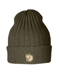 Fjallraven Green Fjallraven Byron Hat - Dark Olive for men