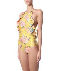 Zimmermann Yellow Swimsuit
