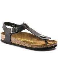 Birkenstock Kairo Sandal Womens Oiled Leather Black